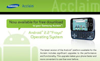 US Cellular's Samsung Acclaim boosted to Android 2.2