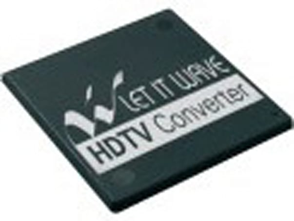 Let It Wave showcases bandlet upconverting for 100Hz / 120Hz HDTVs