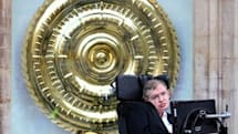 Stephen Hawking unveils the most morbid, amazing $1.8m clock you'll ever see