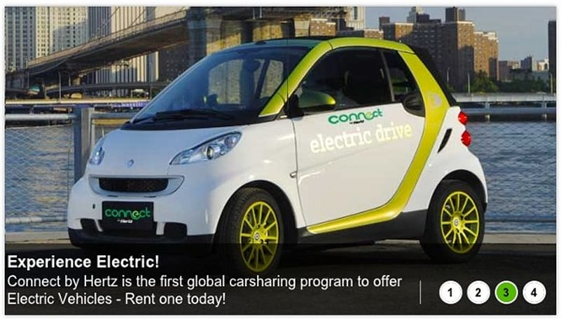 Hertz launches hourly EV rentals in London, self-satisfaction comes free