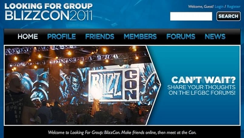New social site launches for coordinating meetups at BlizzCon