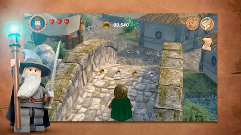 Lego: The Lord of the Rings wants to be found on iOS