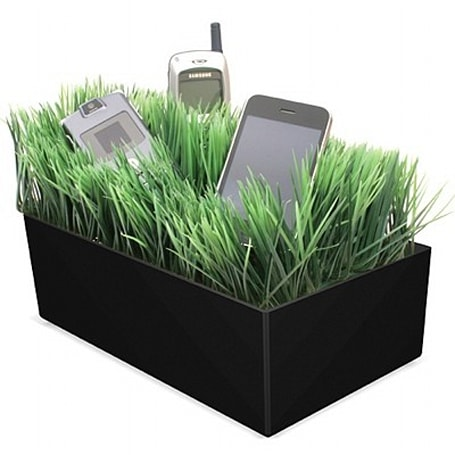 Grass Charging Valet doesn't actually charge your gadgets, isn't really grass