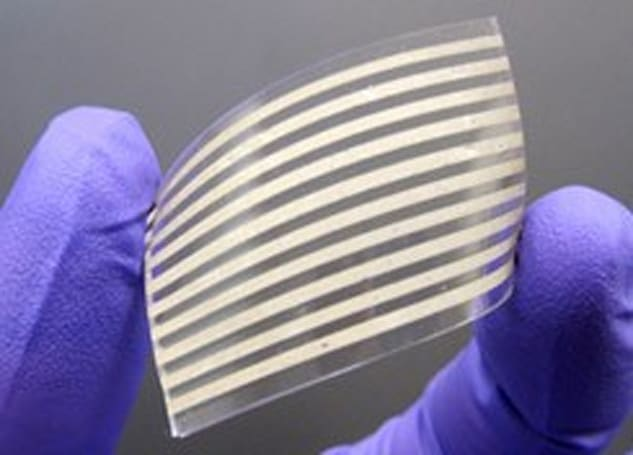NCSU creates stretchable conductors from silver nanowires, lets gadgets go the extra inch