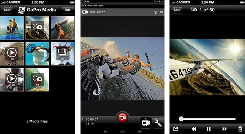 GoPro App 2.0 lets action cam owners save and share their footage