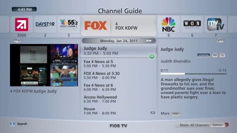 Verizon FiOS TV 1.9 software update adds an HD guide, DVR enhancements