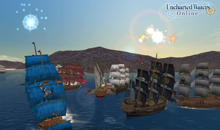 Set sail for Uncharted Waters Online
