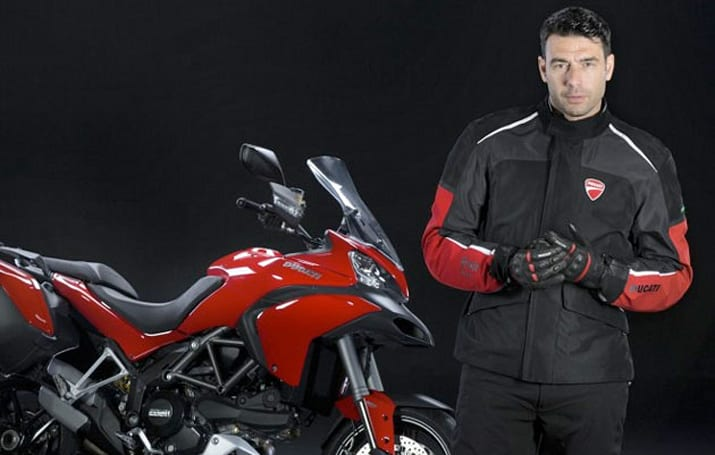 Ducati's new bike jacket turns you into a human airbag