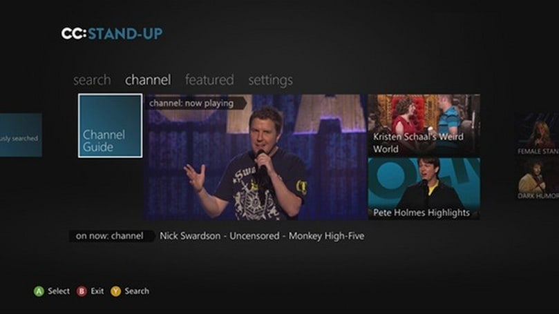 Xbox brings laughter to all ages with Comedy Central and Nickelodeon apps