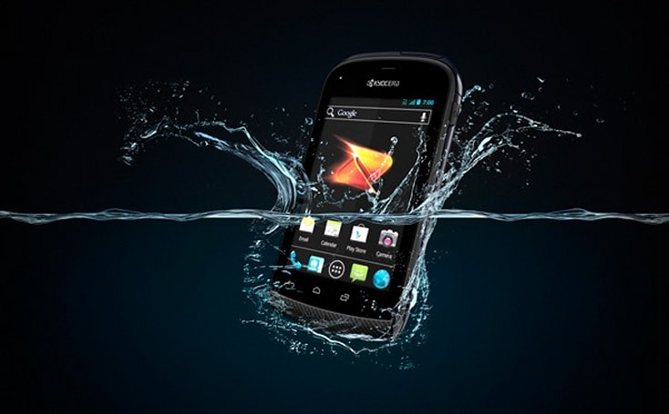 Kyocera Hydro hitting Boost on August 3rd for $130, lets you get your Ice Cream Sandwich soggy