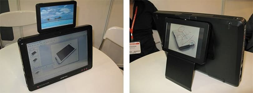e-Detail's twin-screen Prezenter PSR tablet gets detailed
