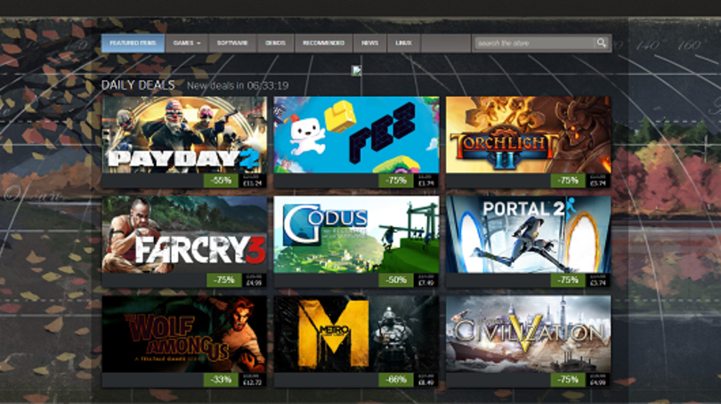 Steam rises to 7 million concurrent users over holiday weekend