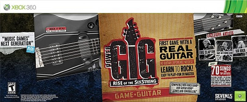 Swag Saturday: Power Gig: Rise of the Six String guitar and game