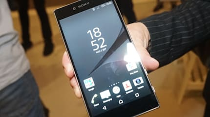 動画:Xperia Z5 Premium 実機インプレ。4Kなのにサクサク動作、光沢背面でZ5と真逆の質感