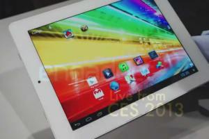 Archos Platinum Line Tablets Hands-on