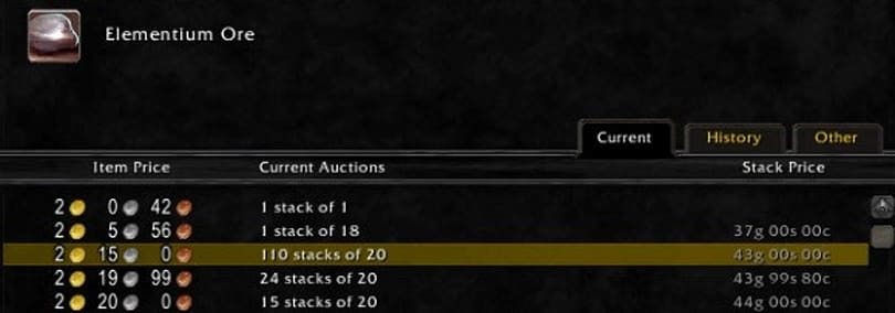 Gold Capped: 5 addons for profitable buying, selling and crafting