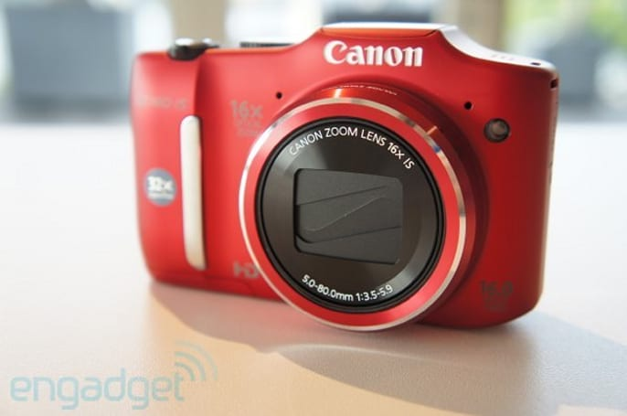 Canon PowerShot SX160 IS appears at Photokina, we go hands-on (video)