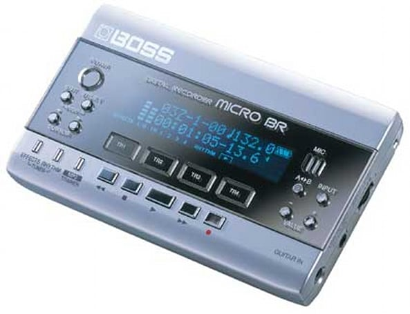 Music Thing: Roland Micro-BR and Trinity DAW