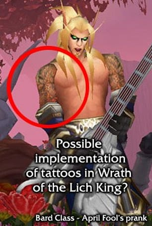 Neth teases about tattoos in Wrath