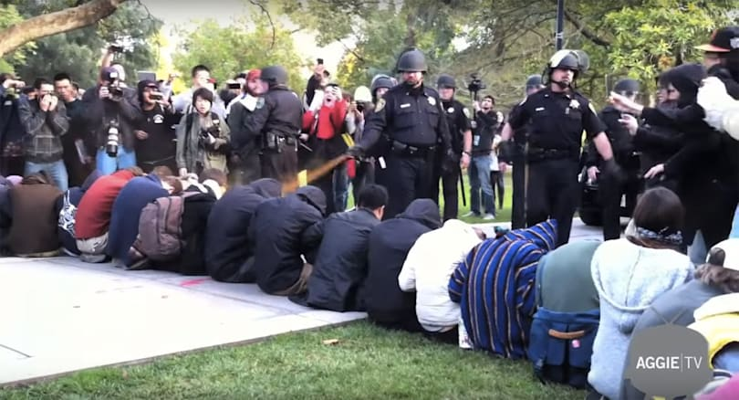 UC Davis apologizes for trying to bury pepper spray incident