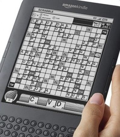 Amazon Kindle gets its first premium app: Scrabble