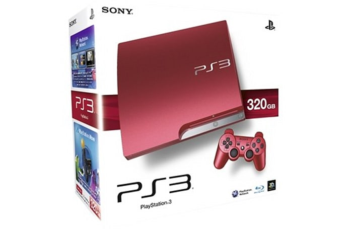 Red, white and silver limited edition PS3s now out in the UK