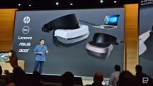 Lenovo、HP 和 Dell 等正在打造 300 美元級的 Windows VR 頭戴裝置