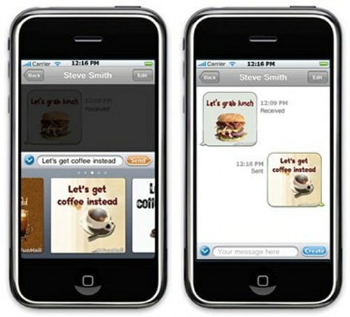 FunMail adds instant images to Facebook status & MMS