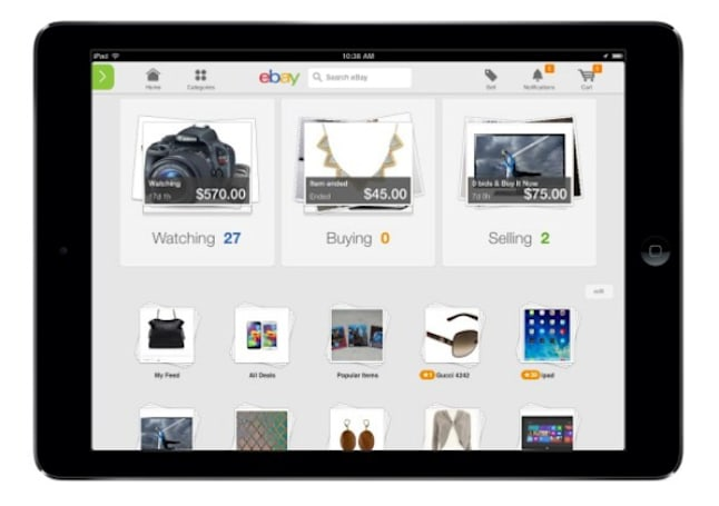 eBay's new mobile apps are all about you, borrow some Pinterest looks