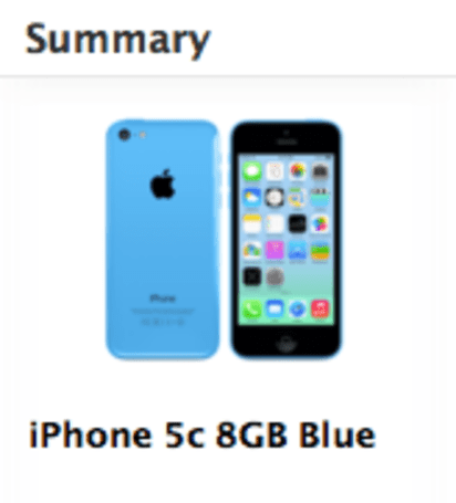 8 GB iPhone 5c appears in UK online Apple Store