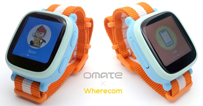 Omate's kids smartwatch does 3G calls and reliable tracking