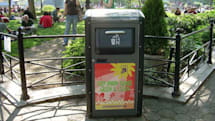 Company plans to turn NYC's trash cans into WiFi hotspots