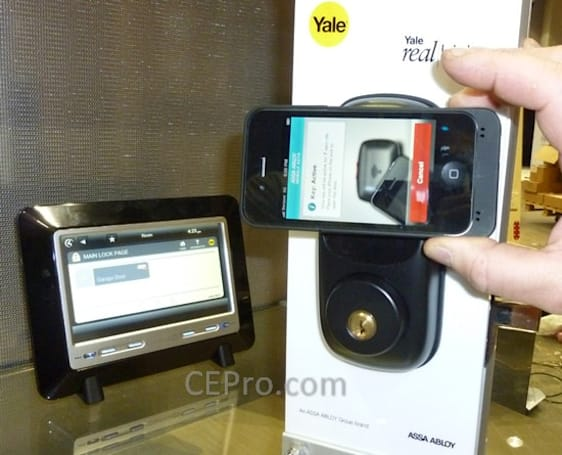 Yale demos NFC-enabled residential locks, germaphobes rejoice (video)
