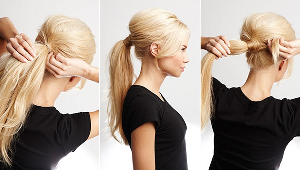 4 easy steps to revamp your ponytail