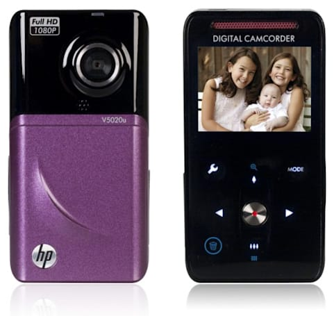 HP V5020u camcorder does 1080p in style