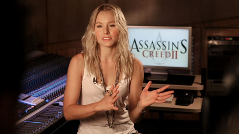 Kristen Bell returns as Lucy in Assassin's Creed 2