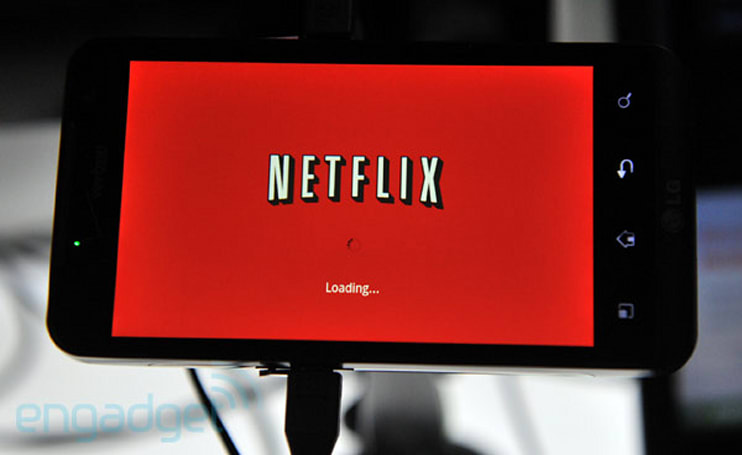 Netflix for Android leaks out, doesn't seem to stream video right now