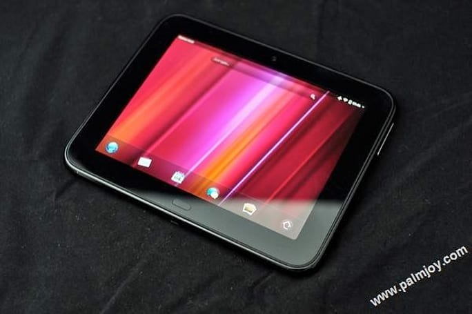 HP TouchPad Go gets stopped for more close-up photography