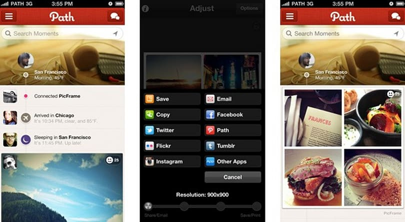 Path expands API access, now supports WordPress and other hand-picked apps