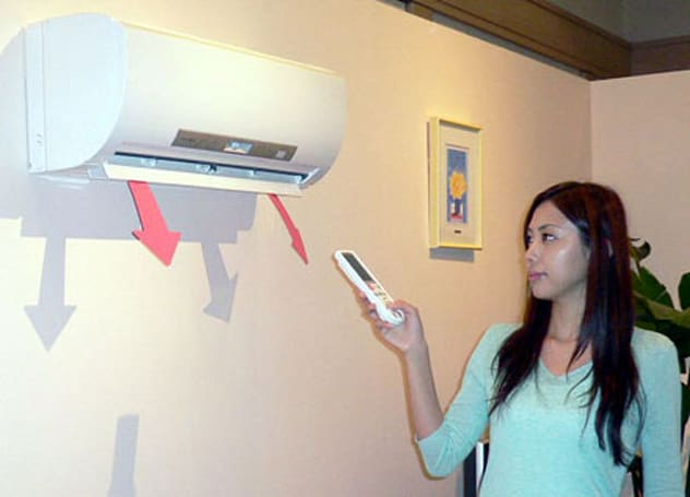 Mitsubishi's people-sensing air conditioners
