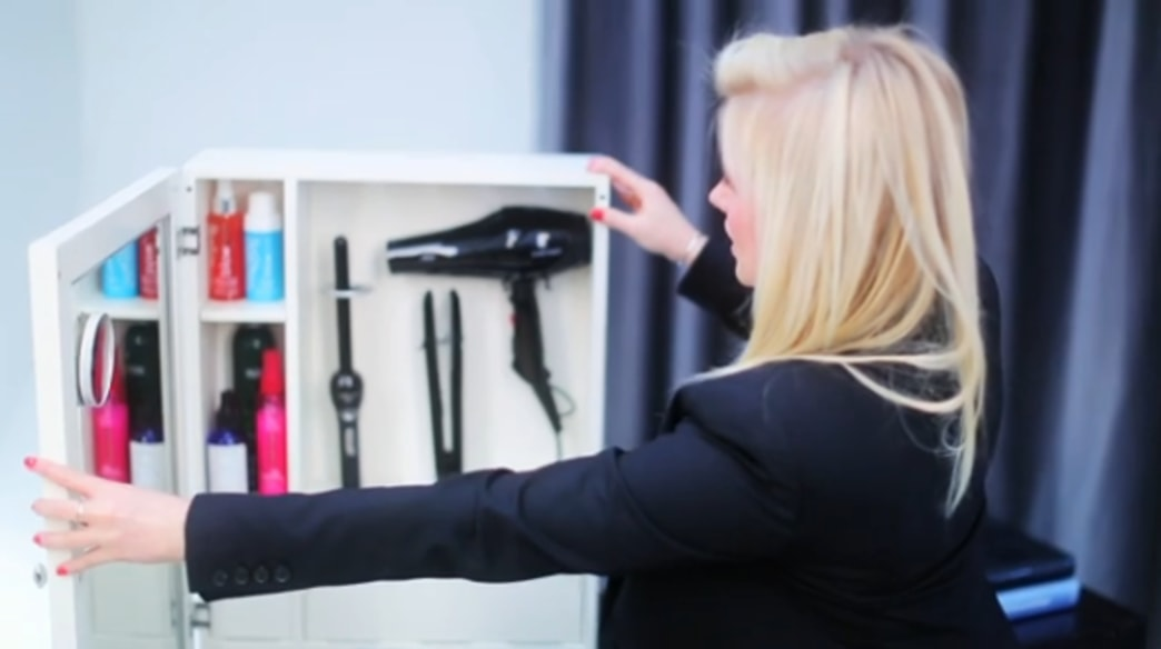 Shop this video: Style & go beauty organizer
