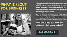 Klout for Business translates social media influence into big brand power