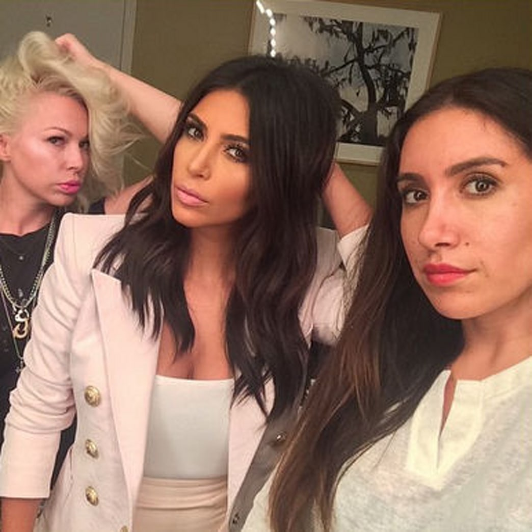 Kim K's hairstylist launches an impressive new website for everything hair
