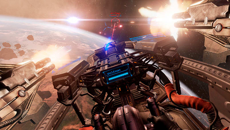 EVE Fanfest 2014: EVE Valkyrie demos gameplay, features Battlestar Galactica's Katee Sackhoff