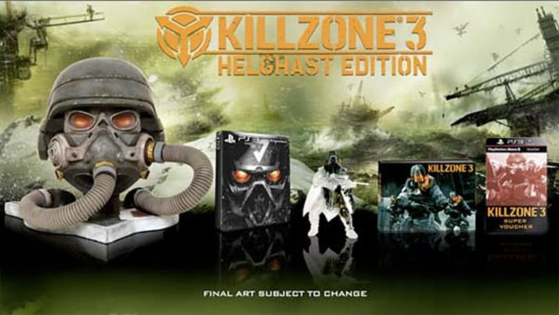 Killzone 3 Helghast Edition headed to Europe