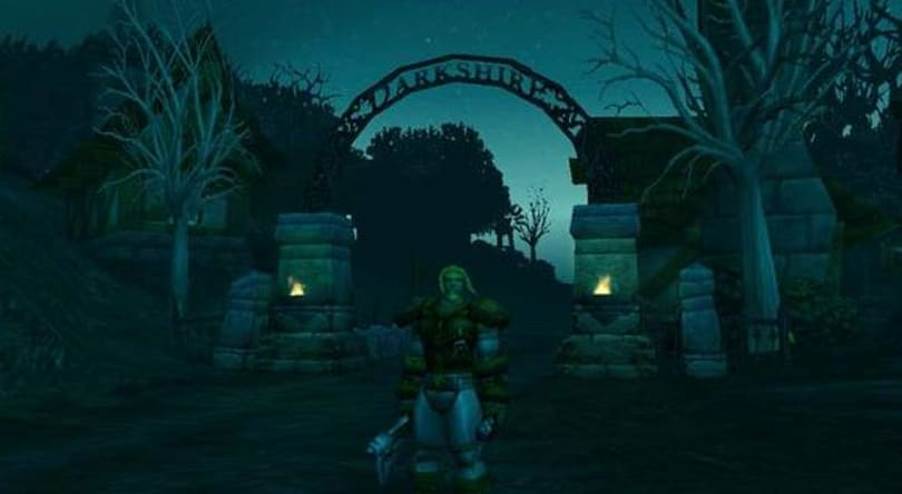 The early days of the World of Warcraft