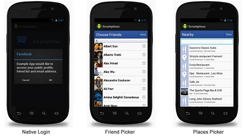 Facebook takes SDK 3.0 for Android out of beta, brings native login and better API support