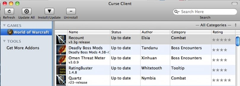 Curse Client for Mac v4 reviewed