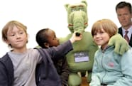 Probo the huggable Belgian bot goes hands-on with kids