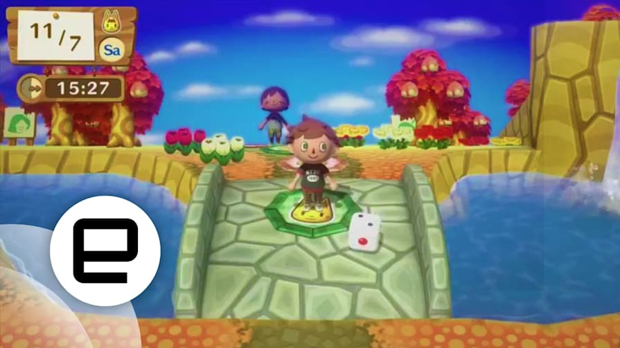 Playdate 'Mario Tennis Ultra Smash' and Board Games with Animals